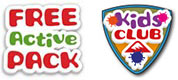 Free Active Pack & Kids Club