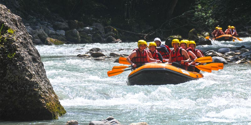 White Water Rafting in the French Alps